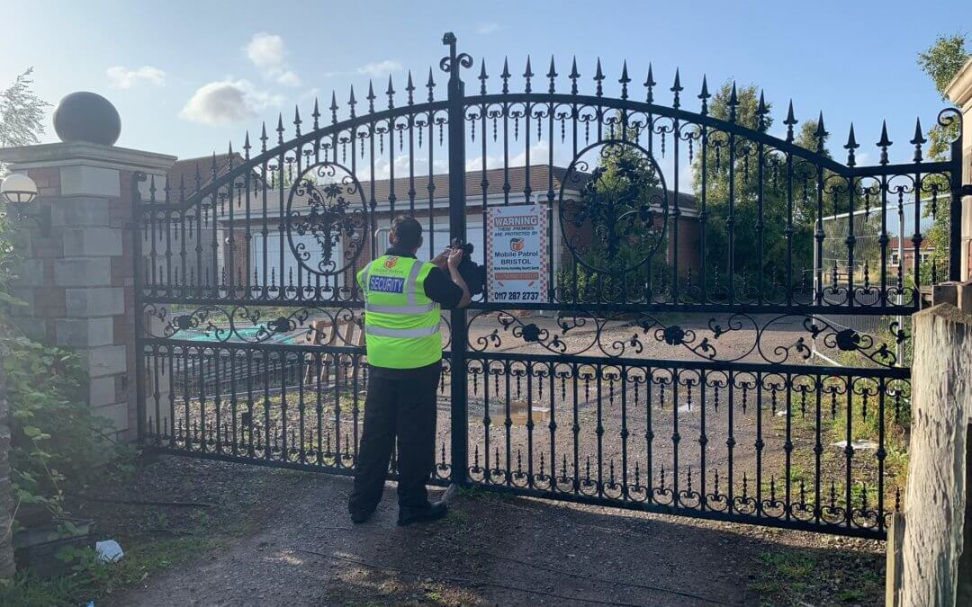 Constructions Site Security in Bristol