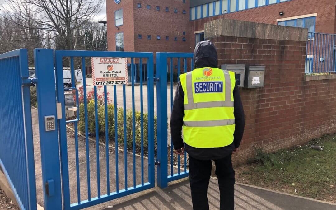 Let our Bristol security company protect your business premises during the lockdown